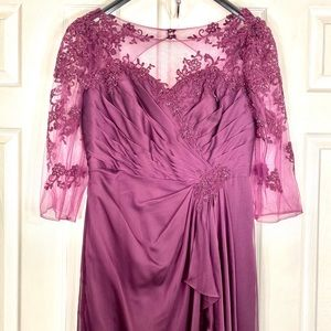 GRAPE LONG MOB JADE by JASMINE SIZE 14